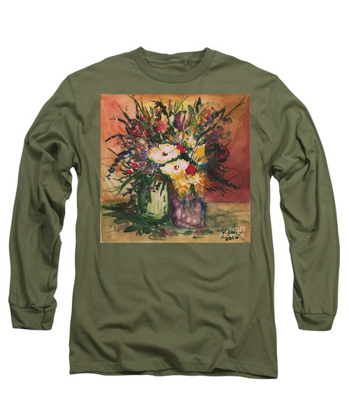Flowers In Vases Long Sleeve T-Shirt