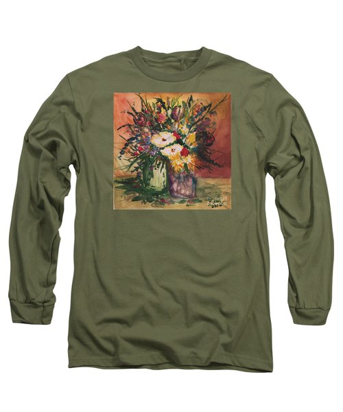 Flowers In Vases Long Sleeve T-Shirt