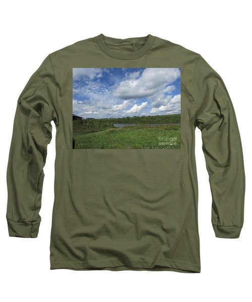 Flowing Low Long Sleeve T-Shirt