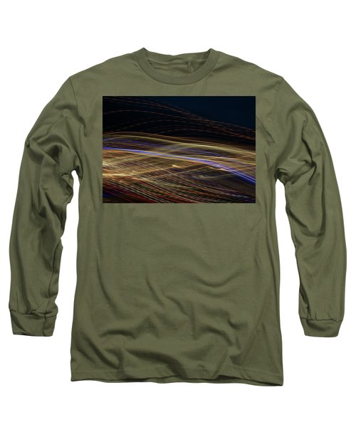 Long Sleeve T-Shirt featuring the photograph Flowing by Michael Lucarelli