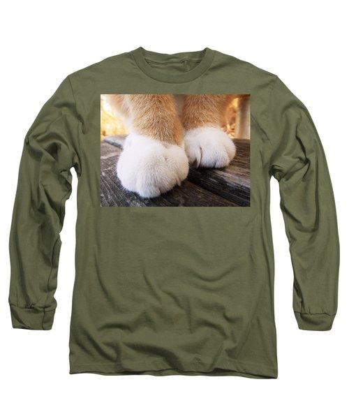 Fluffy Paws Long Sleeve T-Shirt