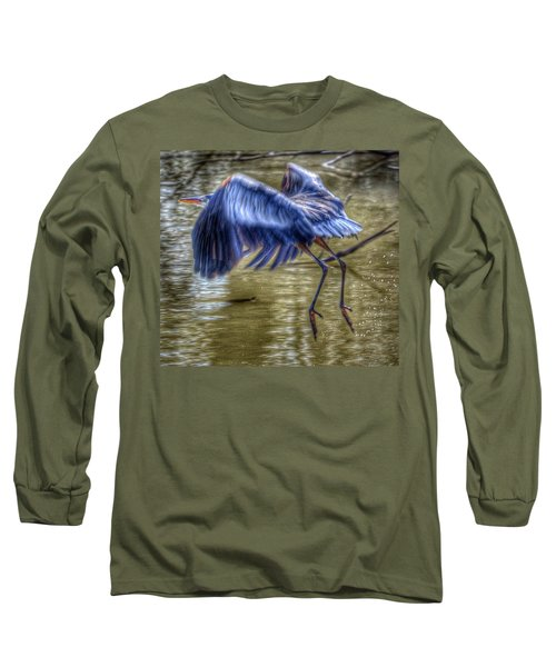 Fly Away Long Sleeve T-Shirt by Sumoflam Photography