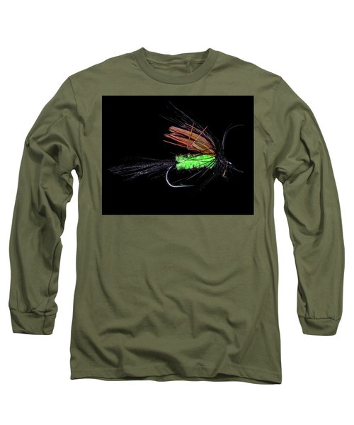Long Sleeve T-Shirt featuring the photograph Fly-fishing 1 by James Sage