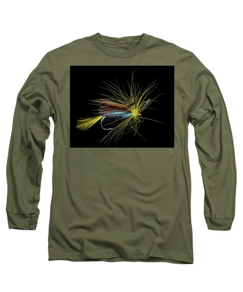 Long Sleeve T-Shirt featuring the photograph Fly-fishing 6 by James Sage
