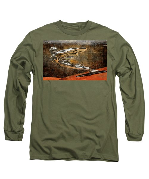 Long Sleeve T-Shirt featuring the digital art Flying Erol by Greg Sharpe