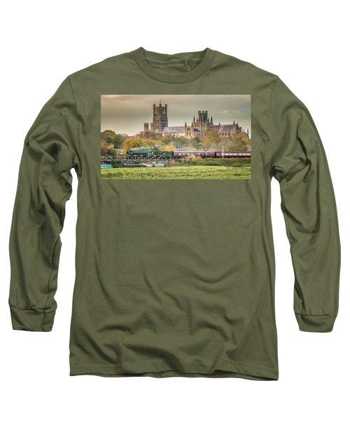 Flying Scotsman At Ely Long Sleeve T-Shirt