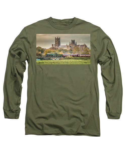 Flying Scotsman At Ely Long Sleeve T-Shirt
