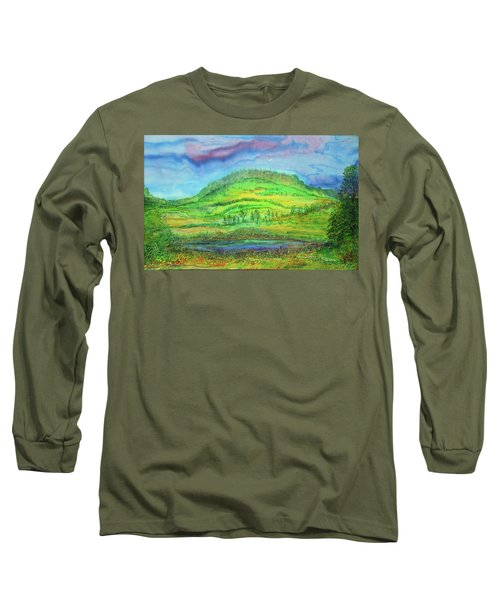 Flying Solo Long Sleeve T-Shirt by Susan D Moody