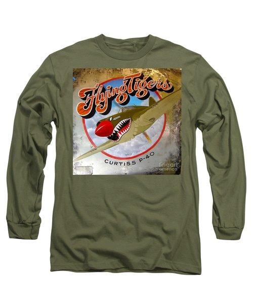 Flying Tigers Long Sleeve T-Shirt