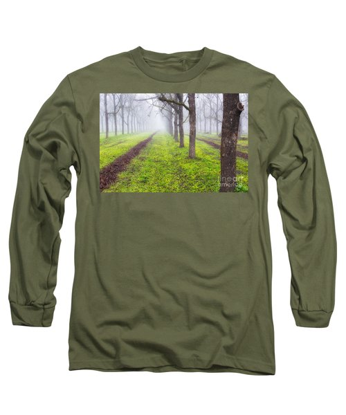 Fog And Orchard Long Sleeve T-Shirt