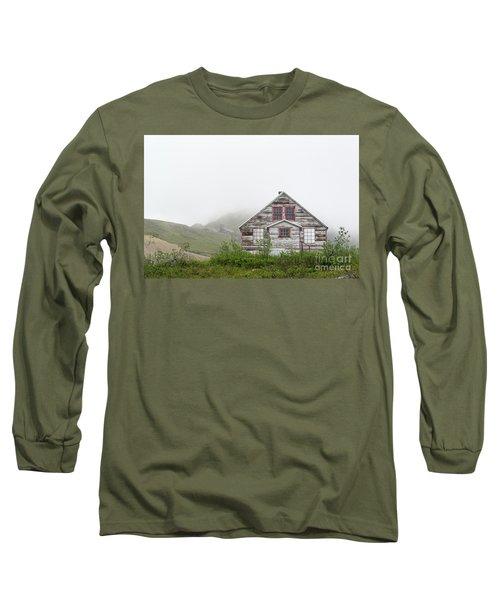 Foggy And Abandoned Long Sleeve T-Shirt