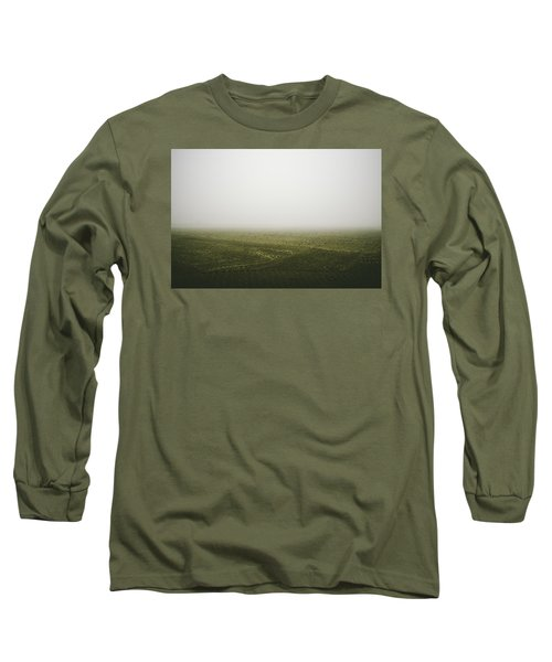 Foggy Autumn Morning Long Sleeve T-Shirt by Cesare Bargiggia