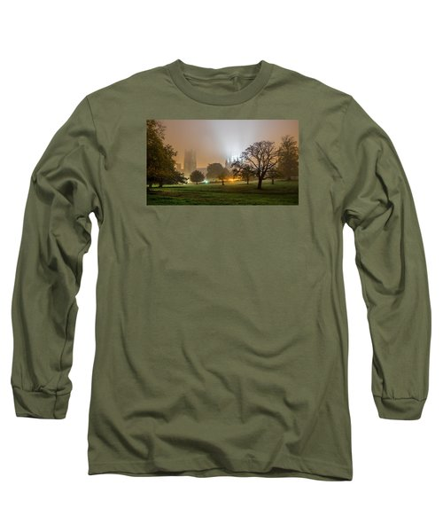 Foggy Cathedral Long Sleeve T-Shirt