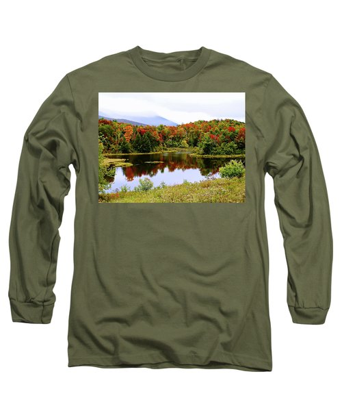 Foggy Day In Vermont Long Sleeve T-Shirt
