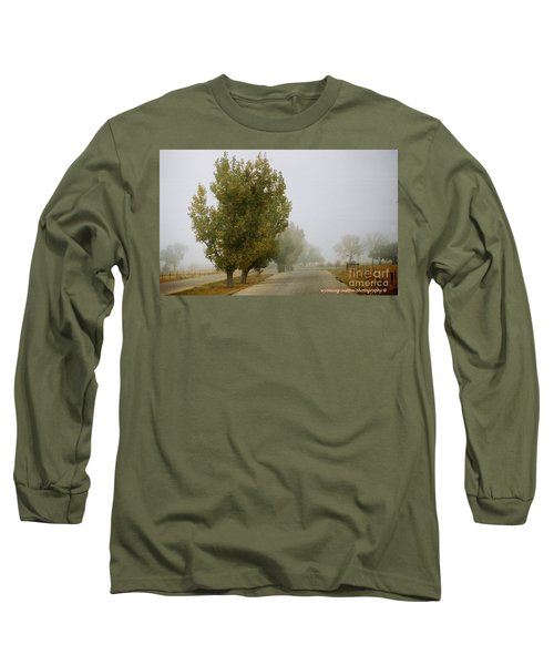 Foggy Trees Long Sleeve T-Shirt