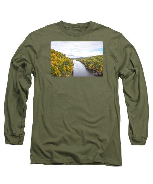 Foliage Clouds Long Sleeve T-Shirt