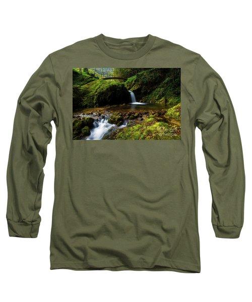 Follow It II Long Sleeve T-Shirt by Yuri Santin