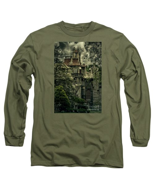 Fonthill With Storm Clouds Long Sleeve T-Shirt