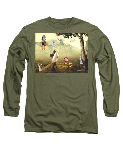 Fool Enters Dreamland Long Sleeve T-Shirt