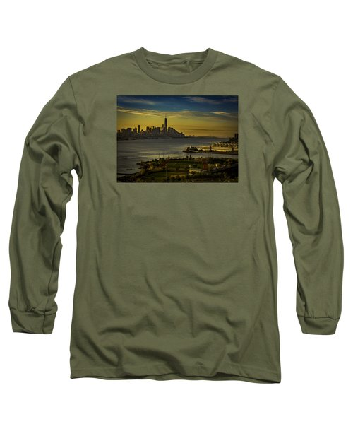 Football Field With A View Long Sleeve T-Shirt
