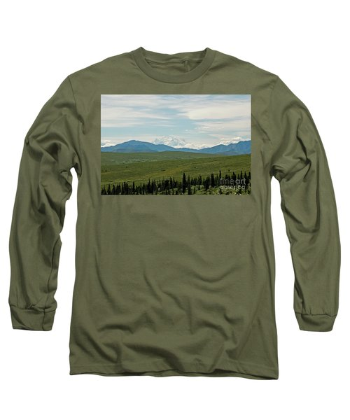Foreground And Mountain Long Sleeve T-Shirt