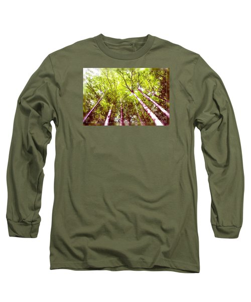 Long Sleeve T-Shirt featuring the photograph Forest 2 by Jean Bernard Roussilhe