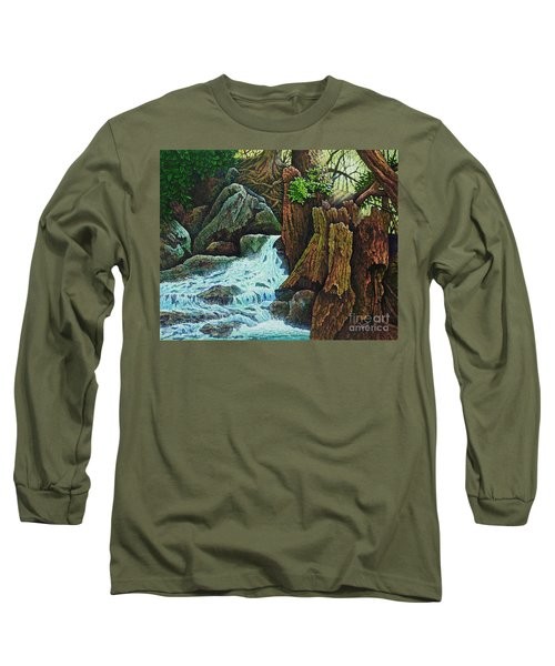 Forest Brook IIi Long Sleeve T-Shirt by Michael Frank