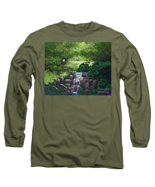 Forest Brook Iv Long Sleeve T-Shirt by Michael Frank