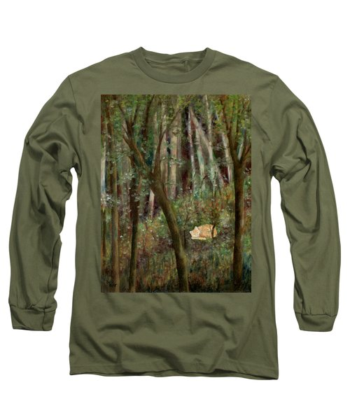 Forest Cat Long Sleeve T-Shirt
