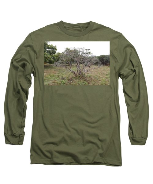 Forest Character Tree Long Sleeve T-Shirt