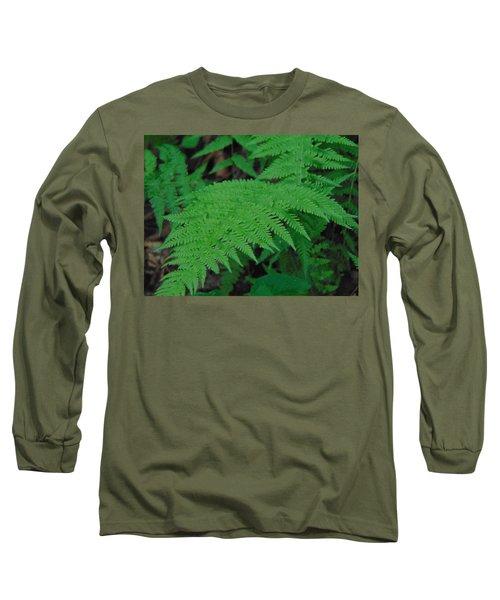Forest Fern Long Sleeve T-Shirt