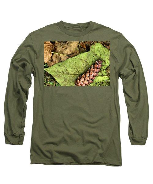 Forest Floor Still Life Long Sleeve T-Shirt
