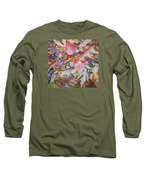 Forest Floor Tapestry Long Sleeve T-Shirt
