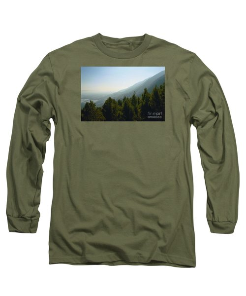 Forest In Israel Long Sleeve T-Shirt by Gail Kent