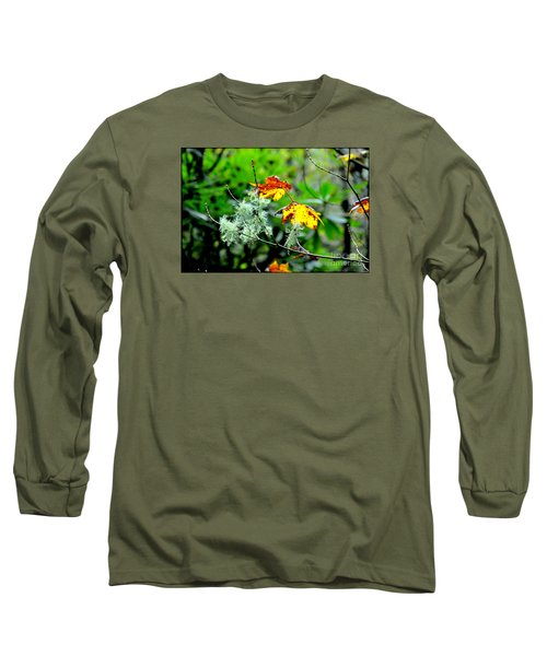 Long Sleeve T-Shirt featuring the photograph Forest Little Wonders by Tanya Searcy