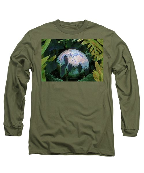 Forest Orb Long Sleeve T-Shirt by Lori Seaman