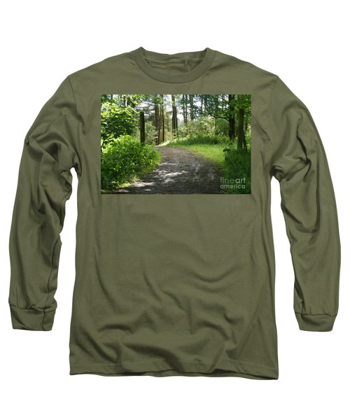 Forest Path. Long Sleeve T-Shirt