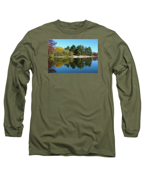 Forest Reflections Long Sleeve T-Shirt by Teresa Schomig