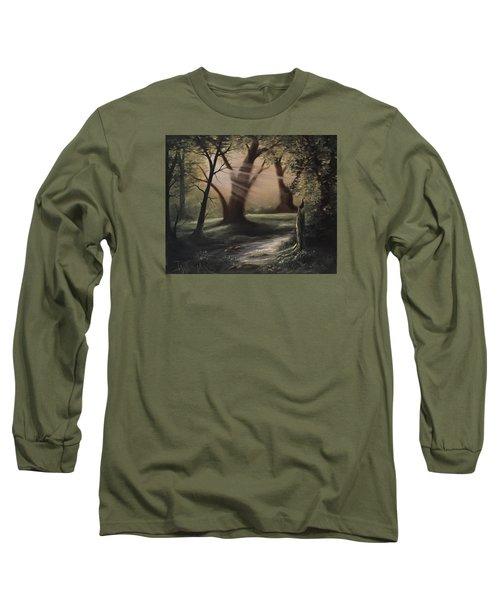 Forest Stream  Long Sleeve T-Shirt