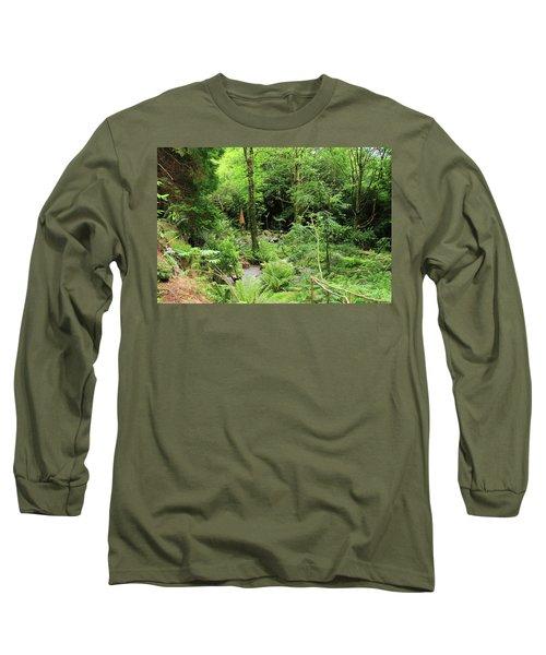 Forest Walk Long Sleeve T-Shirt by Aidan Moran