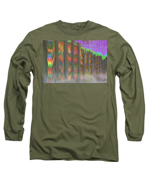 Long Sleeve T-Shirt featuring the digital art Forests Of The Night by Wendy J St Christopher