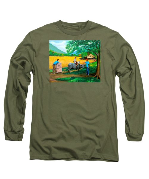 Forex 1 Long Sleeve T-Shirt by Cyril Maza