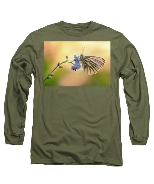 Forget Me Not Long Sleeve T-Shirt by Jaroslaw Blaminsky