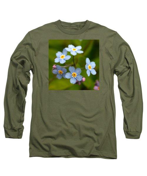 Forget-me-not Long Sleeve T-Shirt by Jouko Lehto