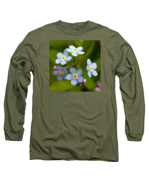 Forget-me-not Long Sleeve T-Shirt
