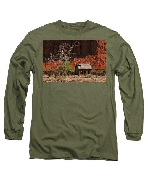 Forgotten - 365-129 Long Sleeve T-Shirt by Inge Riis McDonald