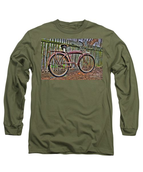 Long Sleeve T-Shirt featuring the photograph Forgotten Ride 1 by Jim and Emily Bush