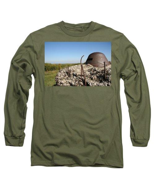 Long Sleeve T-Shirt featuring the photograph Fort De Douaumont - Verdun by Travel Pics