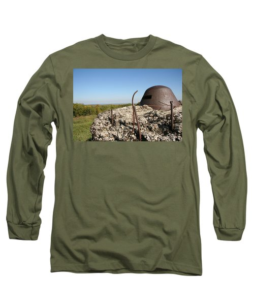 Long Sleeve T-Shirt featuring the photograph Fort De Douaumont - Verdun by Travel Pics