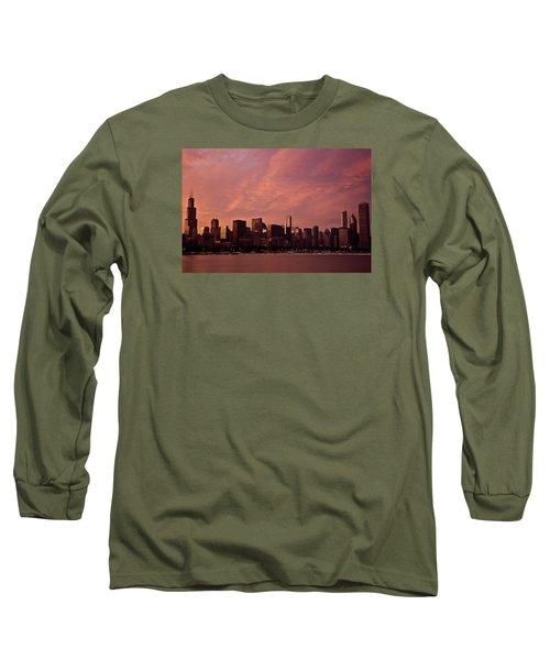 Fort Dearborn Long Sleeve T-Shirt